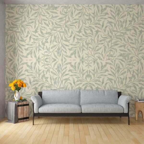 mockup ecopias papel de parede aplicado flores 5