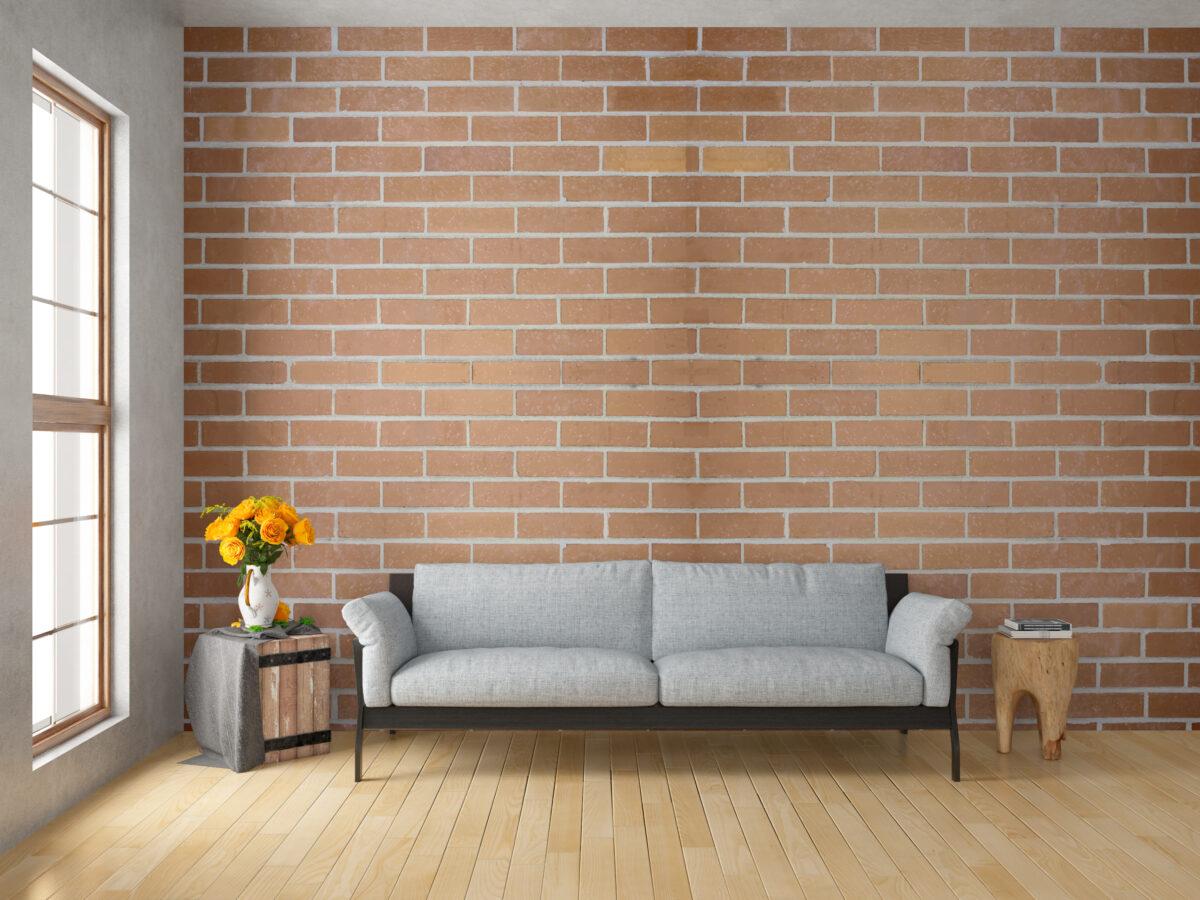 mockup ecopias papel de parede aplicado tijolos 1